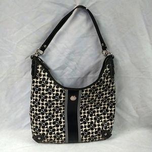 Coach Heritage Stripe Shoulder Bag